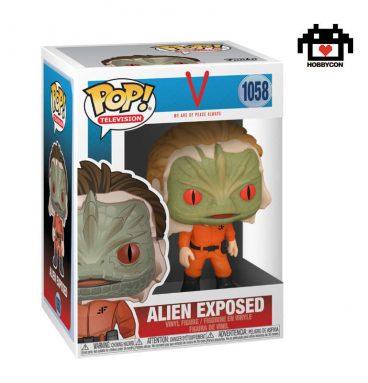 V - Alien Expuesto