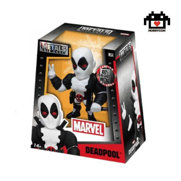 Deadpool. White - Metal Die Cast