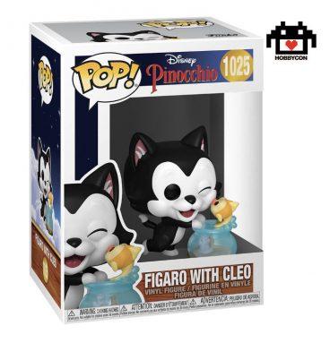 Pinocchio - Figaro with Cleo - Hobby Con