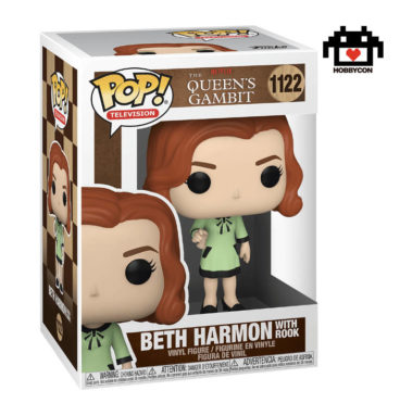Queens Gambit - Beth Harmon con Torre - Hobby Con