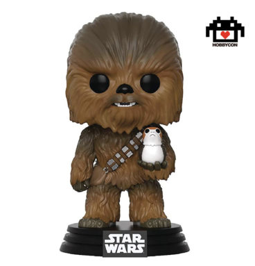 Star Wars - Chewbacca con Porg - Hobby Con