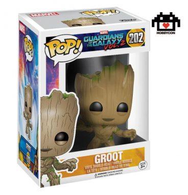 Guardianes de la Galaxia - Groot - Hobby Con