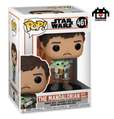 Star Wars - The Mandalorian con Grogu - Hobby Con
