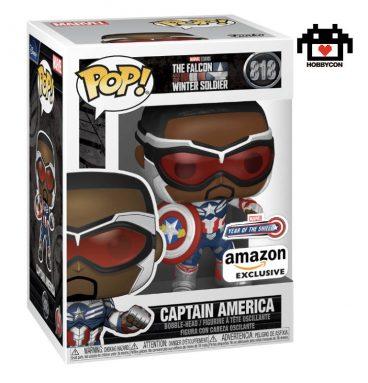 The Falcon and The Winter - Captain America - Hobby Con
